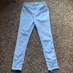 old navy light blue jeggings
